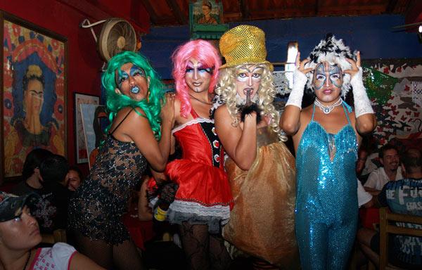 condomovil ladies 2 ... held in Barrio Las Peñas, Guayaquil, Ecuador on Februray 11, 2011.